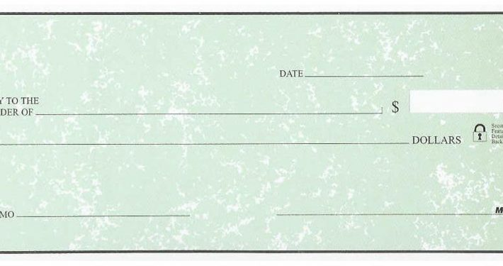 green parchment deskset style check