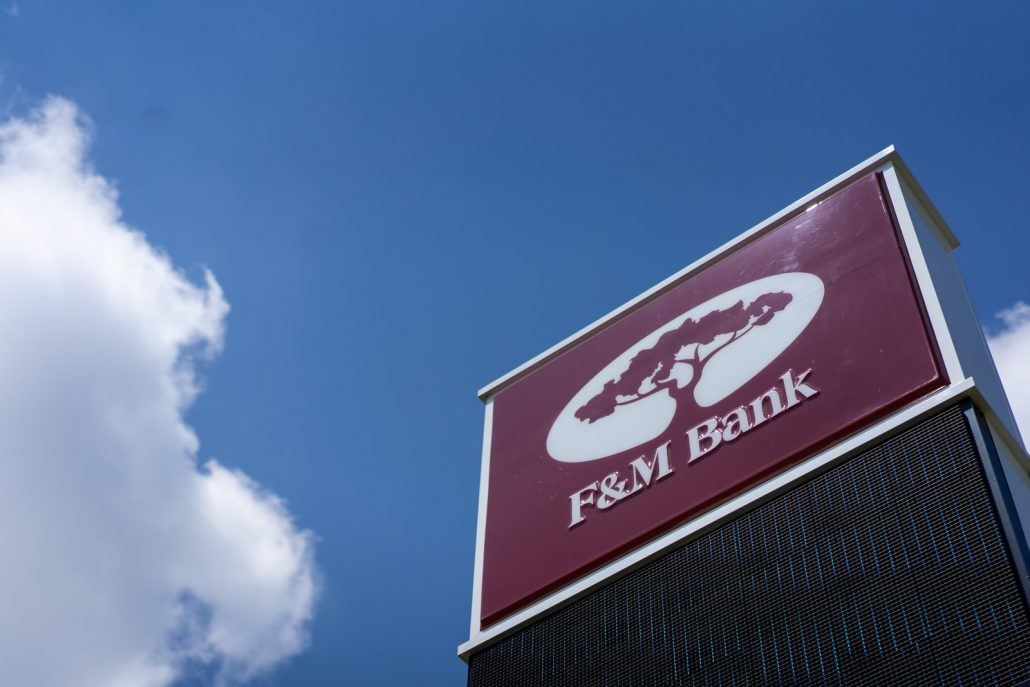 F&M Bank Corp  Announces 3rd Quarter Earnings and Dividend - F&M Bank