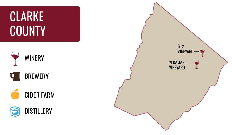 Clarke County Map