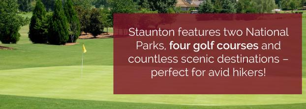 Parks, Golf Courses & Hiking in Staunton VA