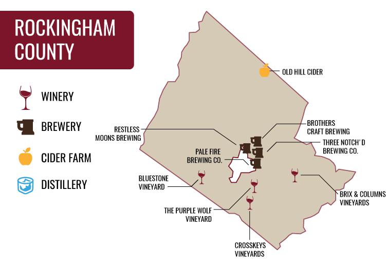 Rockingham County Map