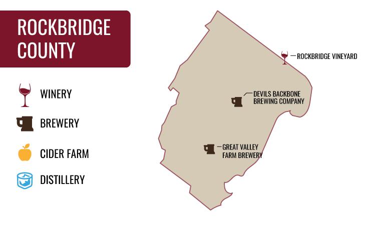Rockbridge County Map