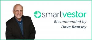 Smartvestor Pro logo with photo of Dave Ramsey