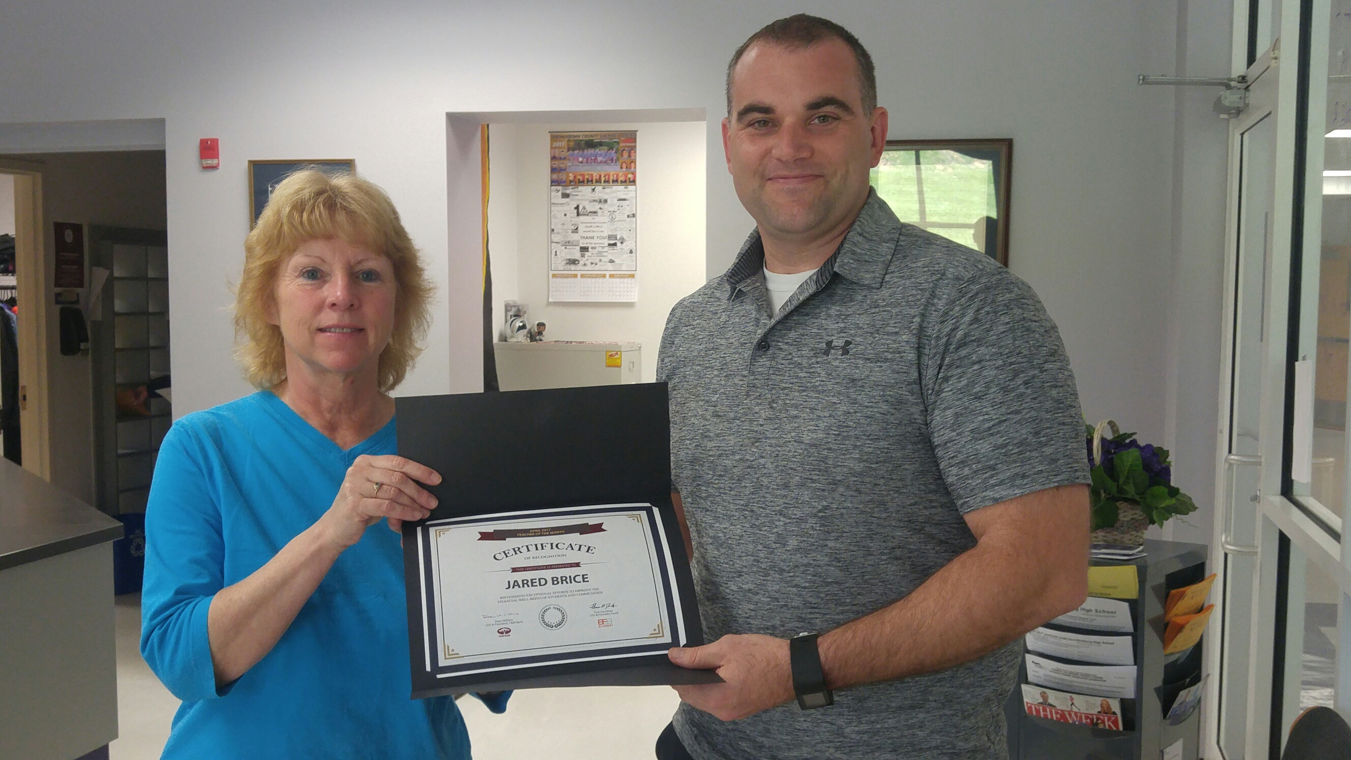 f m bank s teacher of the month for april 2017 f m bank