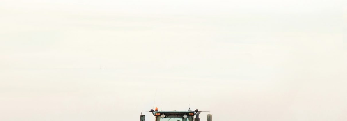 Image of tractor on farm