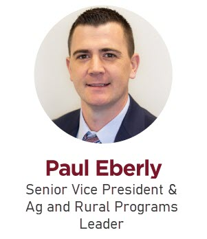Paul Eberly, Senior Vice President & Ag and Rural Programs Leader