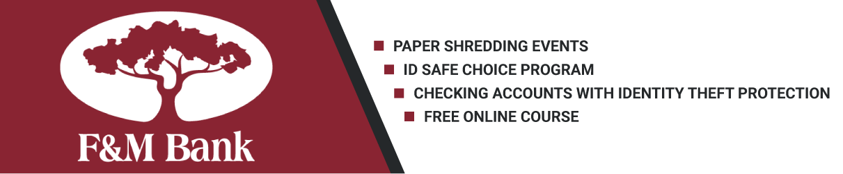 Shredding, Safe Choice Program, Online Course, Accounts with Protection
