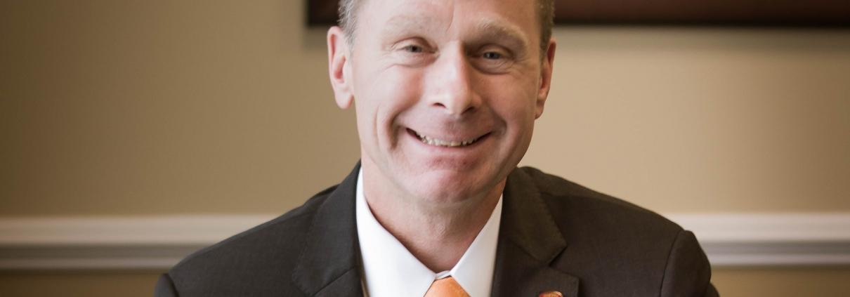 Photo of Mark Hanna, President and CEO