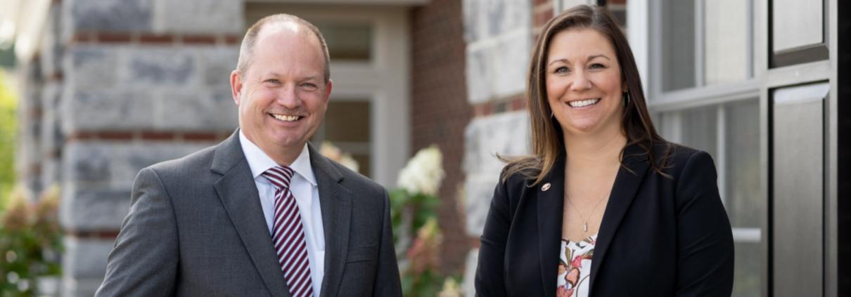Katherine Preston and Kevin Nixon