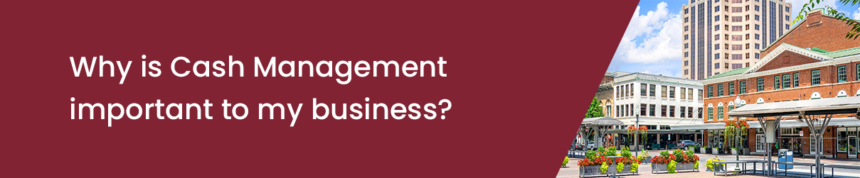 Why is Cash Management important to my business?