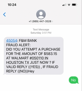 Scam Text