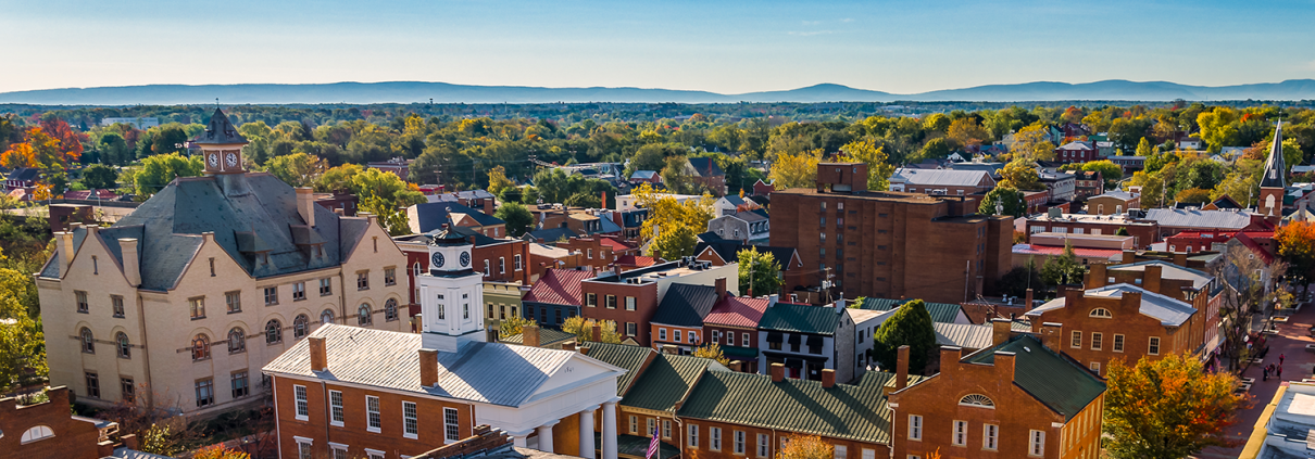 Photo of downtown Winchester